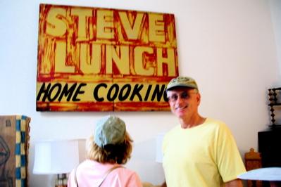 Steve_lunch